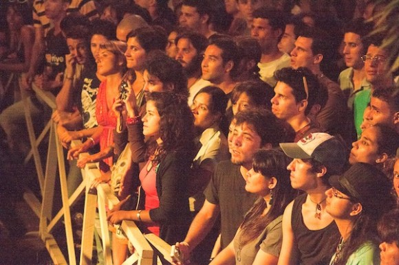 Primera fila. Foto: Alejandro Ramírez Anderson