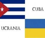 Recibe Presidente de Ucrania a Vicepresidente del Consejo de Ministros de Cuba