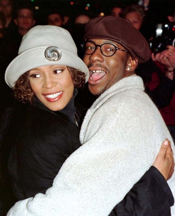 Con su esposo Bobby Brown. Foto: Reuters