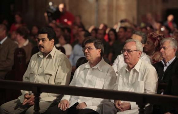 Misa por Chávez en Cuba