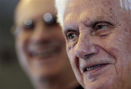 Benedicto XVI en México. Foto: AP