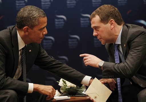 Discusiones de Obama y Medvedev sobre el escudo antimisil