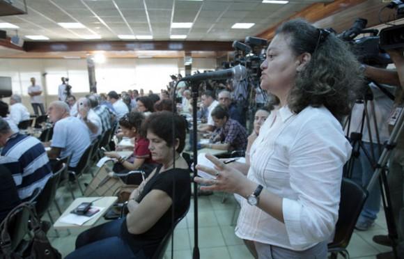 Conferencia de Prensa en La Habana con el Canciller Bruno Rodríguez. Foto: Ismael Francisco/ Cuba