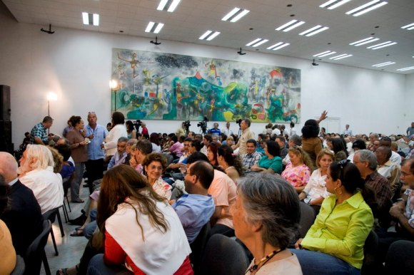 """Presentación del libro """"Nuestro deber es luchar"""" en Casa de las Américas, La Habana. Foto: Abel Carmenate/Cubadebate"""