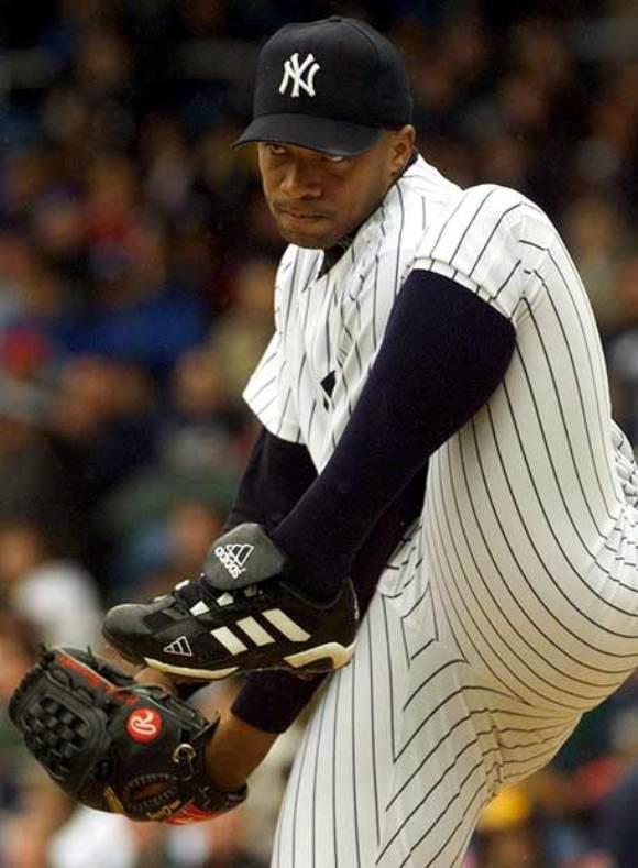Duque Hernández jugando por los Yankees