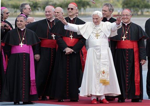 El Papa llega a la La Habana. Foto: Gregorio Borgia/ AP