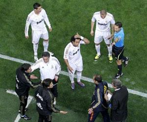 Por enésima ocasión, Mourinho terminó expulsado. Foto: Vicente Rodríguez/Marca
