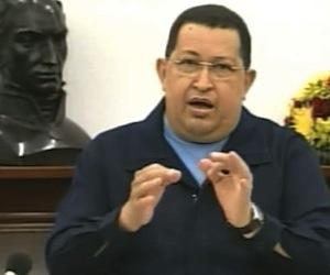 Hugo Chávez en consejo de vicepresidentes desde Miraflores