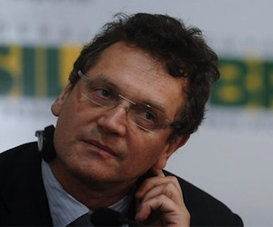 El secretario general de la FIFA, el francés Jerome Valcke