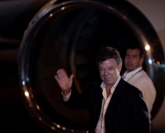 Juan Manuel Santos. Foto: Ismael Francisco/Cubadebate