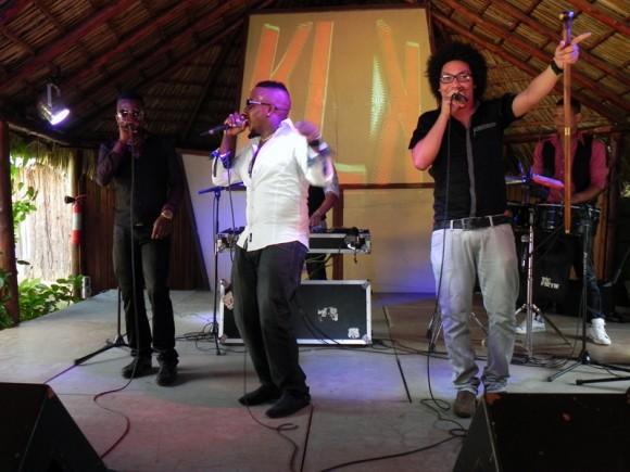 """Kola Loka, en El Sauce presentó varios temas,  que conforman el fonograma """"Hay Kola loka pá  rato"""". Foto. Marianela Dufflar"""