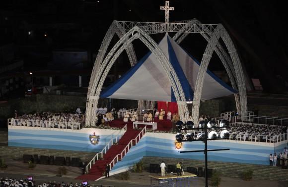 Santa Misa en Santiago de Cuba. Foto: Ismael Francisco/ Cubadebate.