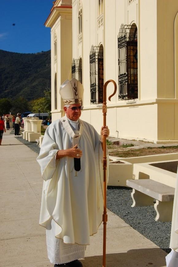 monseñor Dionisio García Ibáñez, arzobispo de Santiago de Cuba . Foto Cubadebate