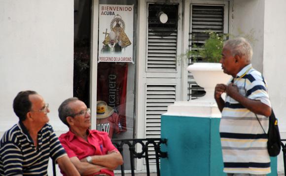 Santiago de Cuba espera al Papa Benedicto XVI. Foto: Ismael Francisco