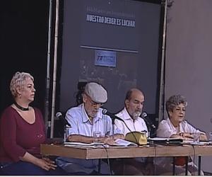 Presentación del libro en La Habana. Foto: Justin.tv