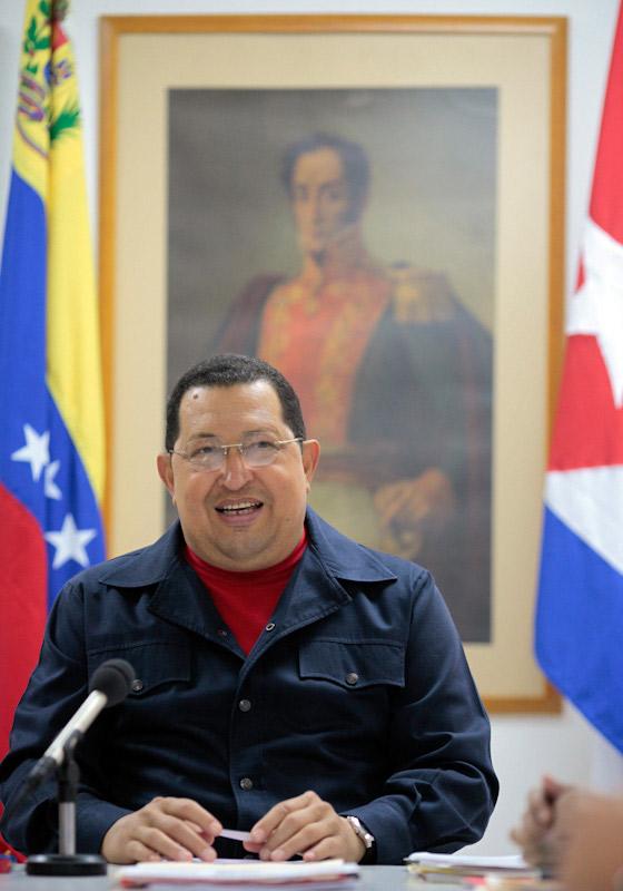 Hugo Chávez en Cuba. Foto: Prensa Presidencial, Venezuela