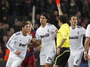 Ramos, otro que sabe mucho de expulsiones. Foto: Beatriz Guzmán/Marca.