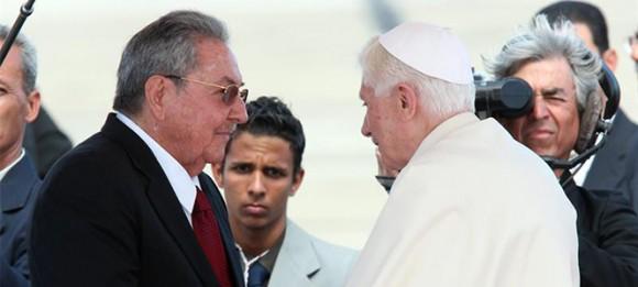 Raúl y Benedicto. Foto: Alejandro Ernesto/ EFE