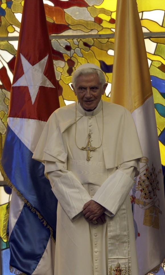 El Papa durante su visita a Cuba en 2012 Foto: Ismael Francisco/ Cubadebate