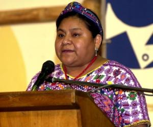 Rigoberta Menchú:  La tesis del buen vivir es la vida plena para el ser humano