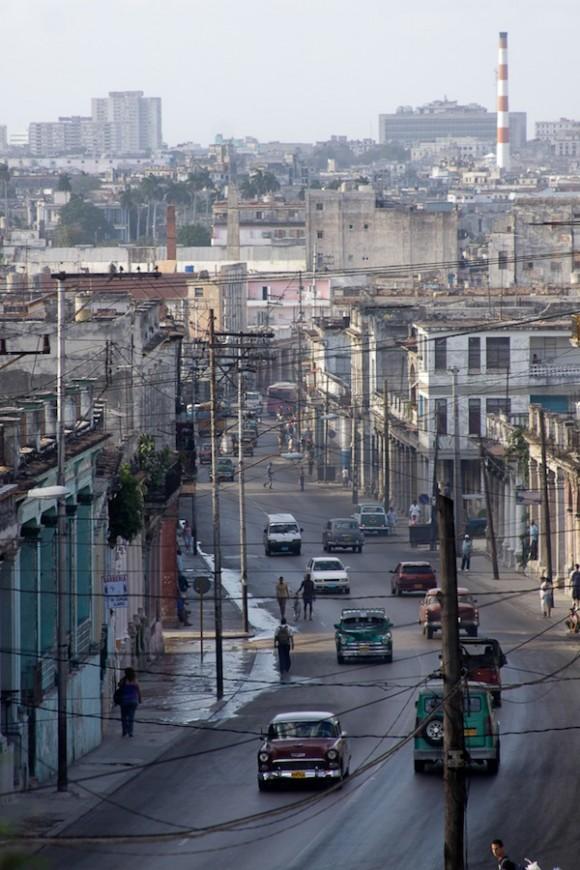 Vista desde la loma. Foto: Alejandro Ramírez