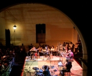 Un escenario de Luz y Compostela. Foto: Alejandro Ramírez Anderson