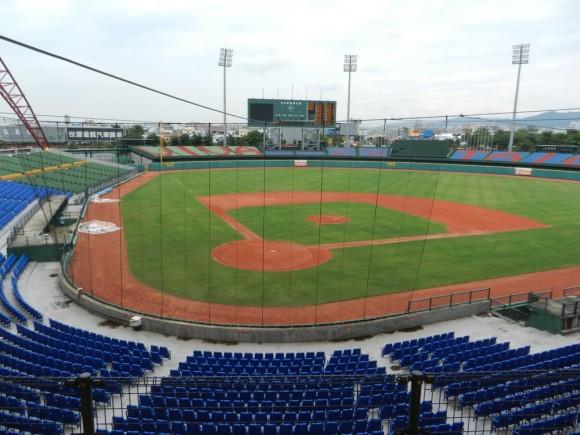 Estadio XinZuang en Taipéi, China Taipéi