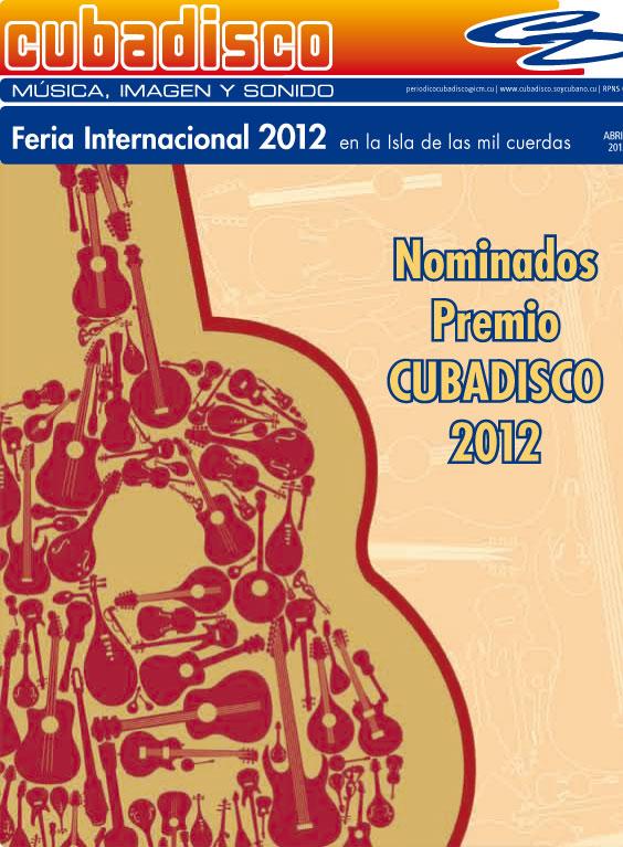 Cartel del Cubadisco 2012