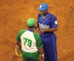 José Dariel Abreu (79) y lexander Malleta, dos de los jonroneros de la tarde