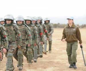 En la base militar se entrenan a Fuerzas de Seguridad chilena. Foto: Aporrea