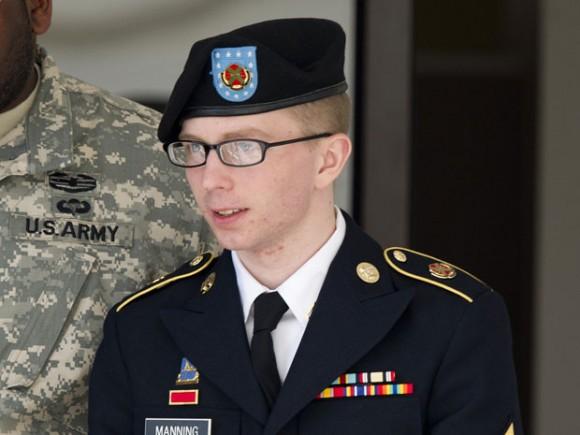 Bradley Manning hoy. Foto: AFP