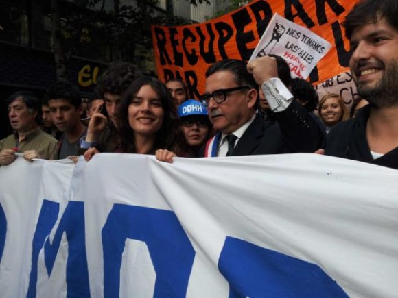 ¡Allende Vive! y se abren sus grandes alamedas. vía Twitter @karolcariola