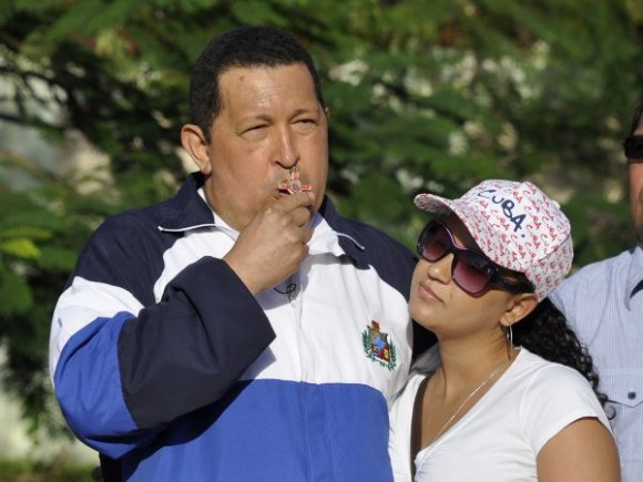 Chavez Announces his Return to Venezuela from Cuba for April 26