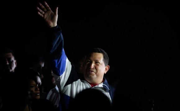 Chávez rumbo a Cuba. Foto: Prensa Presidencial de Venezuela