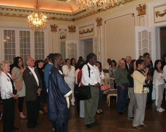 Asistentes al encuentro Cinco por los Cinco, en Washington DC.