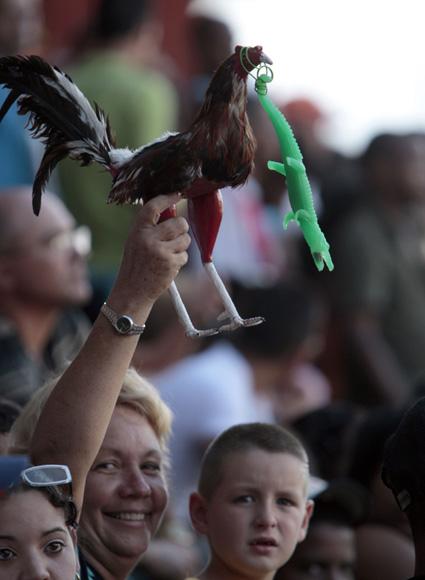 Aficionados en el Huelga.  Foto: Ismael Francisco/Cubadebate.