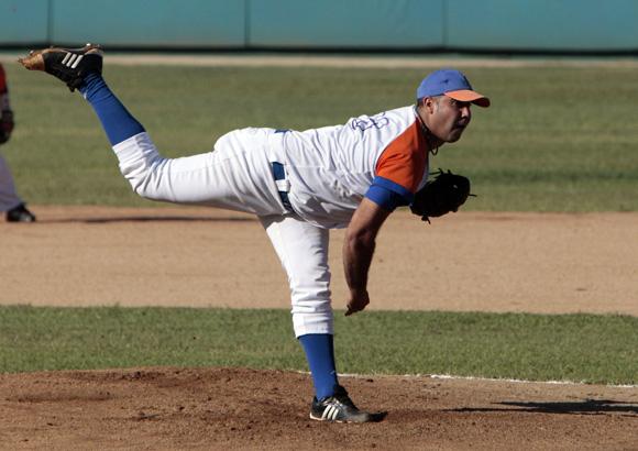 Ismel Jiménez, lanzador más ganador de los spirituanos. Foto: Ismael Francisco/Cubadebate.