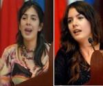 Karol Cariola y Camila Vallejo.