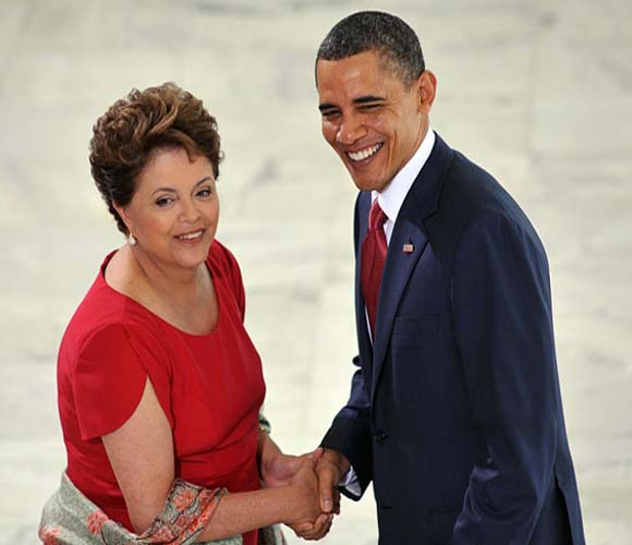 Dilma Rousseff y Barack Obama