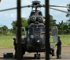 Brasil ha aportado helicópteros de rescate