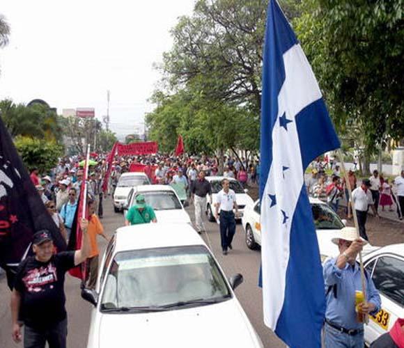 La protesta tuvo lugar en casi todo el país