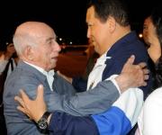 El mandatario venezolano llegó a la isla caribeña acompañado por su hija Rosa. Foto: Roberto Ruiz