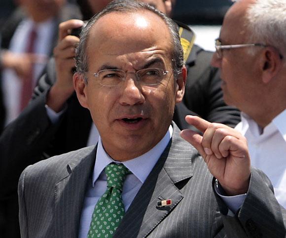 Llega a la Habana Felipe Calderon . Foto: Ismael Francisco/Cubadebate