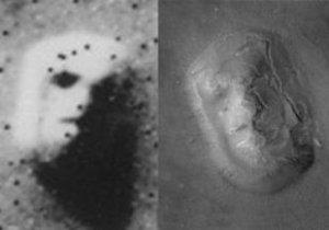 La famosa cara de Marte
