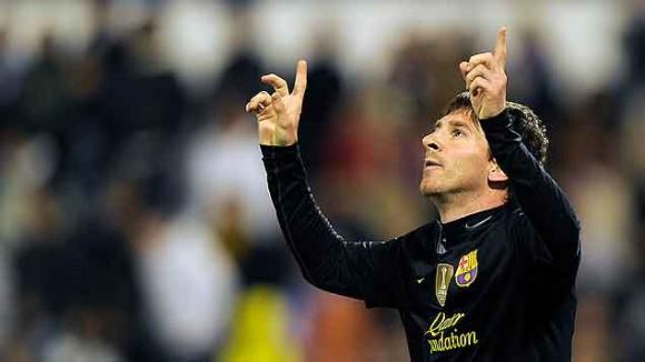 Messi hace historia. Foto  AFP 571c7b66a49b5
