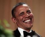El presidente de Estados Unidos, Barack Obama, se burló el sábado por la noche de su previsible rival por la presidencia, Mitt Romney, y de los republicanos en el Congreso, en la cena anual de la Asociación de Corresponsales de la Casa Blanca.