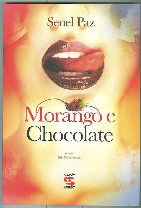 El libro de cuentos de Senel Paz editado en Brasil.