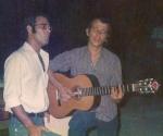 Silvio Rodríguez y Vicente Feliú.