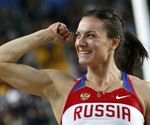 Isinbayeva se convierte en madre de una niña