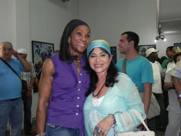 Ana Fidelia Quirot estuvo presente en la inauguración. Foto: Marianela Dufflar.